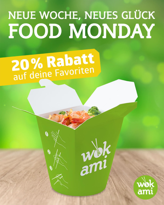 FoodMonday - 20% Rabatt