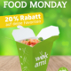 FoodMonday - 20% Rabatt