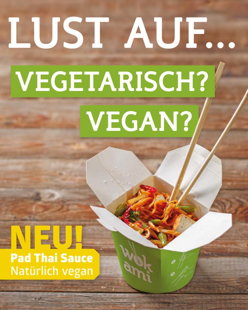 Wokami - Vegetarisch - Vegan - Lecker!